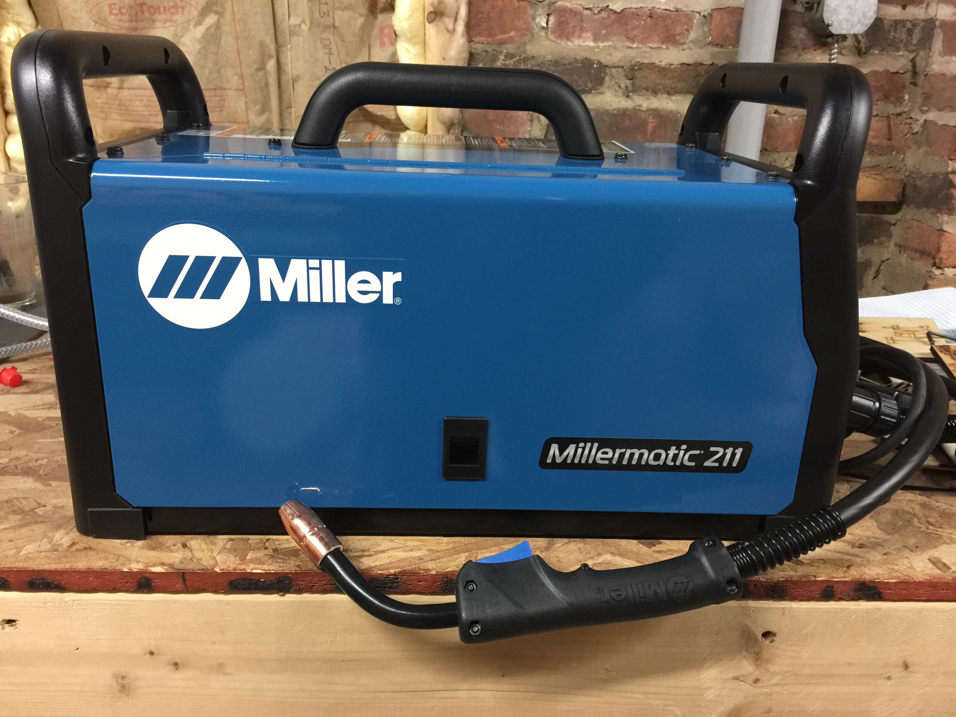 1 of the Foundery's 6 new Millermatic 211 MIG machines