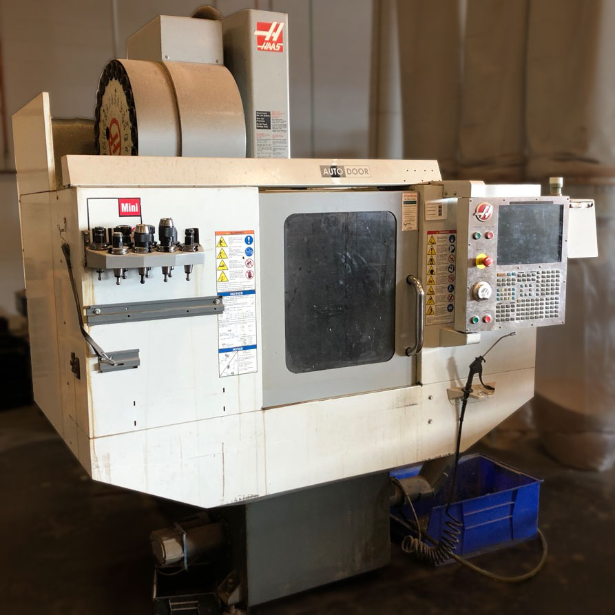 Lot 2 - Haas Mini-Mill 2 CNC Machining Center - The Foundery